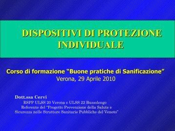 Interventi - Dipartimento di Prevenzione Ulss 20 di Verona