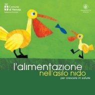 L'Alimentazione nell'asilo nido - Comune di Verona