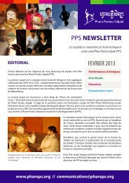 pps newsletter fevrier 2013 - Association le Jardin des artisans