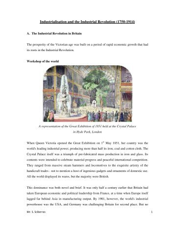 1_ Industrialisation and the Industrial Revolution.pdf