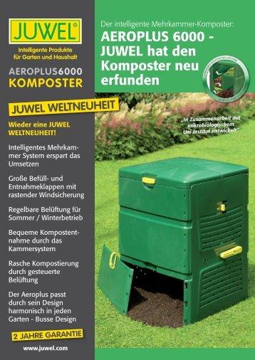 aeroplus6000 komposter - Juwel