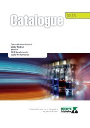 Product Catalogue 2013 - Minerva Biolabs