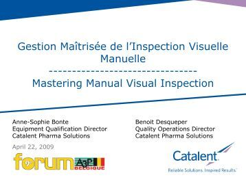 Mastering Manual Visual Inspection - A3P