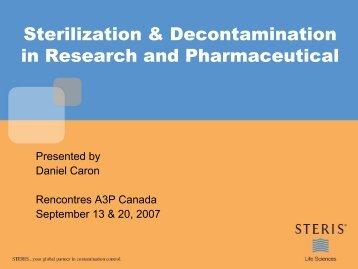 The Steam Sterilization Cycle - A3P