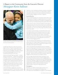 Monsignor Kevin Sullivan - Catholic Charities Annual Report