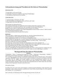 Aufbauanleitung für Infrarot-Wärmekabinen - Well Life Concept GmbH