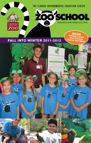Register online At - Tampa's Lowry Park Zoo