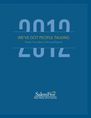 Annual Report - Salem Five