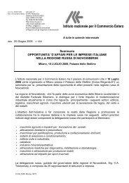 Istituto nazionale per il Commercio Estero - Assomineraria