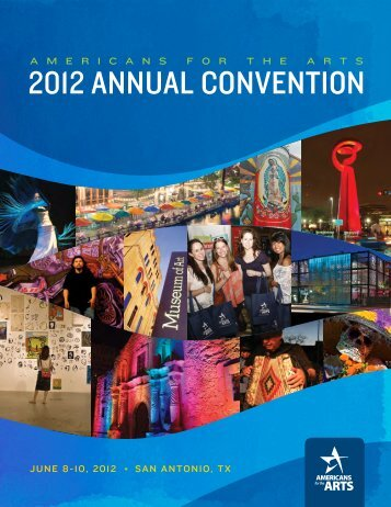 archived program - Americans for the Arts 2013 Annual Convention