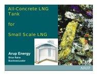 All-Concrete LNG Tank for Small Scale LNG