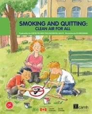 Smoking and Quitting: Clean Air for All - CAMH Knowledge Exchange