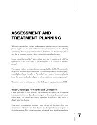 Assessment and Treatment Planning - CAMH Knowledge Exchange