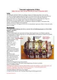 Tekniskt reglemente 2150 2010-2012 - IdrottOnline Förbund - en del ...