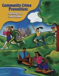 Community Crime Prevention: Investing for a Safer Ottawa