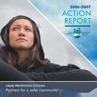 Action Report 2006-07 - Crime Prevention Ottawa