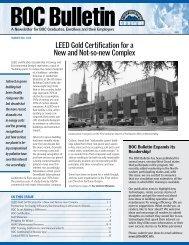 BOC Bulletin - Building Operator Certification