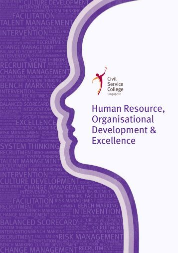 Human Resource, Organisational Development & Excellence