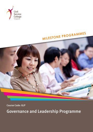 Governance and Leadership Programme - Civil Service College