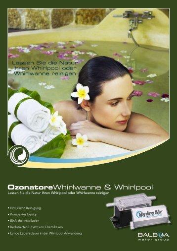 OzonatoreWhirlwanne & Whirlpool - Balboa Water Group