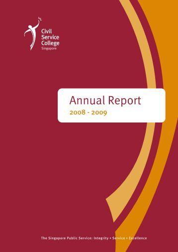 Annual Report - Civil Service College