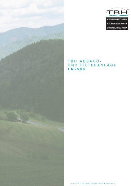 TBH ABSAUG- UND FILTERANLAGE LN-500