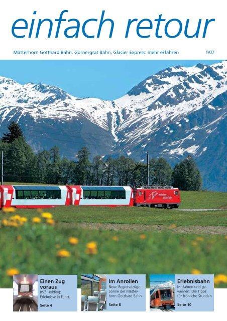 April 2007 - Gornergrat Bahn