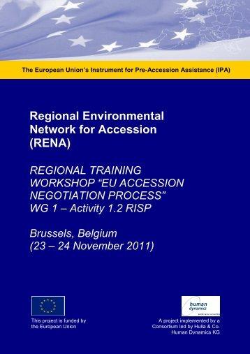 Workshop Materials EU Negotiations Training ... - Renanetwork.org