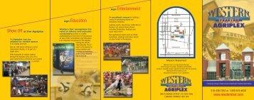 Agri-Education Agri-Entertainment - Western Fair District