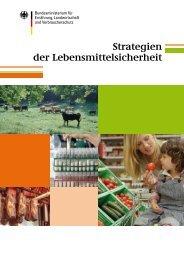Strategien der Lebensmittelsicherheit - BMELV