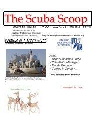 December - Saginaw Underwater Explorers