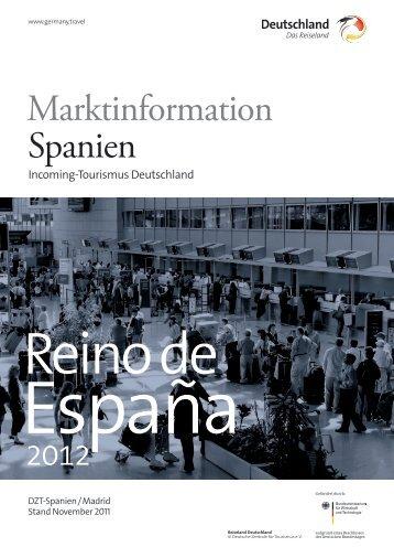 Marktinformation Spanien - Deutschland