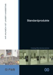 Standardprodukte - GIFAS Electric GmbH