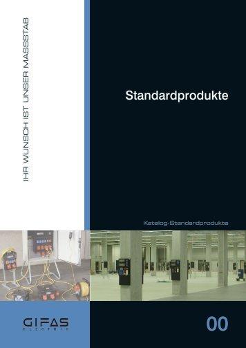 Standardprodukte - GIFAS Electric GmbH