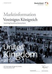 Marktinformationen Großbritannien, Irland - Deutschland