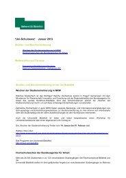 *Uni-Schulnews* Januar 2013 - Universität Bielefeld