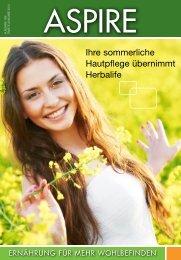Ihre sommerliche Hautpflege übernimmt Herbalife - Herbalife Today ...