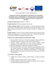 Eiropas Sociālais fonds 2007-2013 - Pilsonības un migrācijas lietu ...