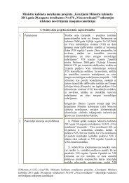 Sākotnējās ietekmes novērtējuma ziņojums (anotācija)