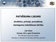 PATVĒRUMA LIKUMS - Pilsonības un migrācijas lietu pārvalde