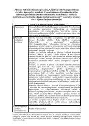 Noteikumu projekts - Pilsonības un migrācijas lietu pārvalde