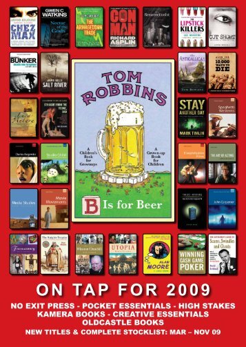 ON TAP FOR 2009 - Oldcastle Books
