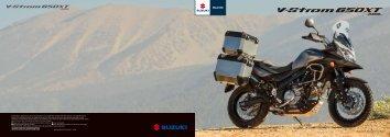 Suzuki V-Strom 650 XT ABS brochure