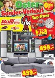 Oster-Sonder-Verkauf