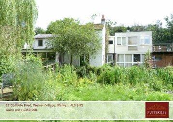 12 Codicote Road, Welwyn Village, Welwyn, AL6 9NQ ... - Vebra