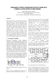frequency offset estimation for pcc-ofdm with symbols overlapped in ...