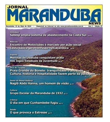 Praia Grande do Bonete: tranquilidade o ano todo pg 08 Cultura ...