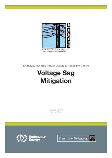Voltage Sag Mitigation - University of Wollongong
