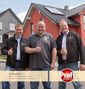 Profi-Gespräch - Weisgerber [PDF - 2,7MB] - Junkers