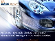Aarkstore - 3M India Limited (3MINDIA) - Financial and Strategic SWOT Analysis Review